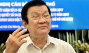 Nguyên Chủ tịch nước Trương Tấn Sang: 'Cần loại bỏ những kẻ cơ hội'
