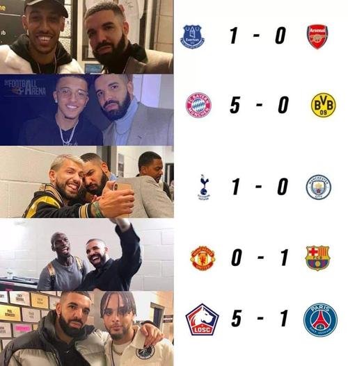 Danh sách các nạn nhân của Drake.
