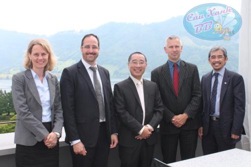 Công ty du học Cầu Xanh tại trường IMI Thuỵ Sĩ.