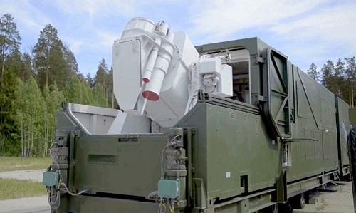 Tổ hợp vũ khí laserPeresvet của Nga. Ảnh: Sputnik.