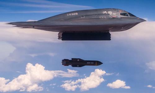 Căng thẳng với Iran, Mỹ tung video oanh tạc cơ tàng hình ném bom 14 tấn