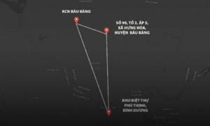 Ba điểm bị khám xét vụ thi thể trong khối bêtông ở Bình Dương