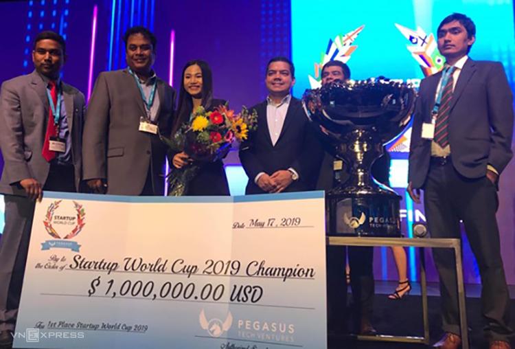 Startup Việt vô địch thế giới dành thưởng 1 triệu USD