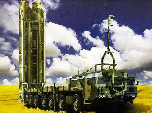 Hình ảnh minh họa xe phóng của tổ hợp S-500. Ảnh: TASS.