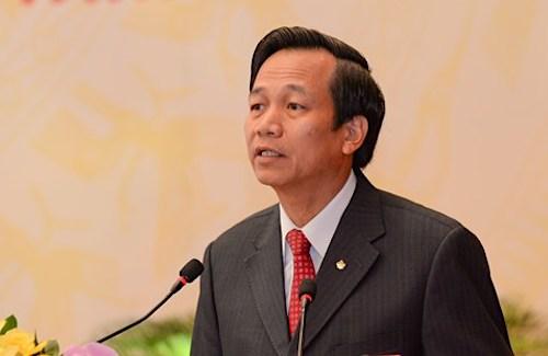 Bộ trưởng Lao động Thương binh và Xã hội Đào Ngọc Dung. Ảnh: Trung tâm báo chí Quốc hội
