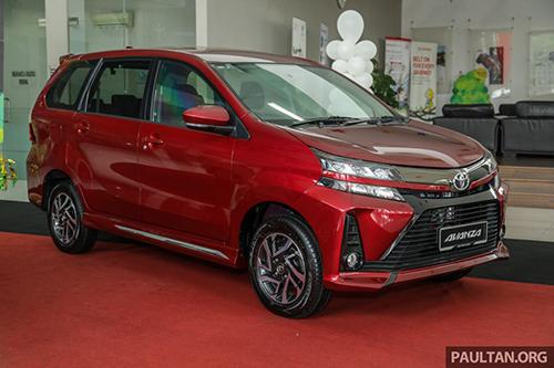 Toyota Avanza 2019 thay đổi nhẹ thiết kế. Ảnh: Paultan