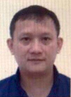 Bị can Bùi Quang Huy.