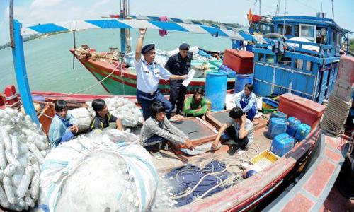 Malaysia bắt 123 ngư dân Việt Nam bị cáo buộc đánh cá bất hợp pháp