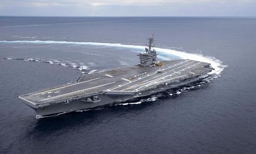 Tàu sân bay USS Abraham Lincoln của hải quân Mỹ. Ảnh: Navy Times.