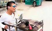 Chàng trai Trung Quốc bại não lập kỷ lục thế giới dùng miệng gấp giấy