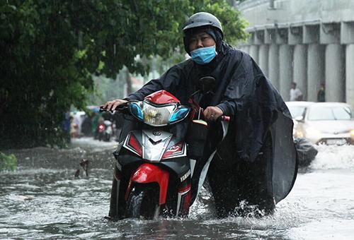 Sài Gòn có thể mưa to trong 10 ngày
