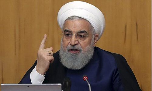 Tổng thống Iran Hassan Rouhani. Ảnh: AP