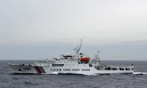 Tàu hải cảnh Haijing 2305 của Trung Quốc. Ảnh: OPLAN.