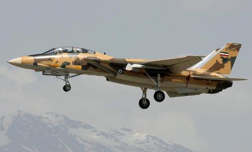 Tiêm kích F-14A hiện đại nhất của không quân Iran. Ảnh: National Interest.