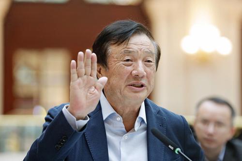 Người sáng lập Huawei Nhậm Chính Phi. Ảnh: VCG.