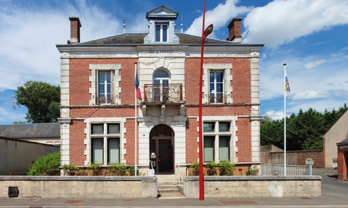 Tòa thị chính Montereau, miền bắc nước Pháp. Ảnh: Mairie de Montereau