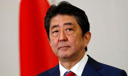 Thủ tướng Nhật Bản Shinzo Abe. Ảnh: AP.