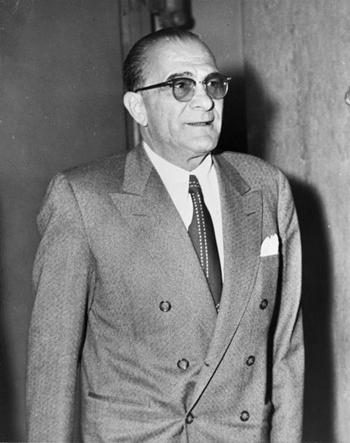 Vito Genovese tại New York vào năm 1959. Ảnh: Thư viện Quốc hội Mỹ.