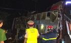 Hai mẹ con tử vong khi ôtô giường nằm lật ở Đồng Nai