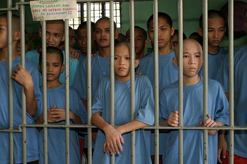 Có 46 bé trai và bé gái đang bị giam tại Ngôi nhà Hy vọng. Ảnh: Preda