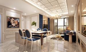 'Thành Rome' khu Đông chăm chút nội thất từ tiền sảnh đến căn hộ