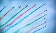 560 máy bay hội tụ trong triển lãm hàng không thế giới ở Trung Quốc