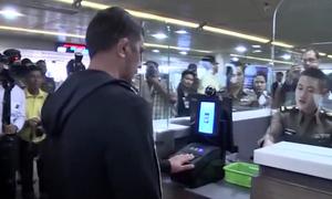Công nghệ nhận diện khuôn mặt tại sân bay ở Thái Lan