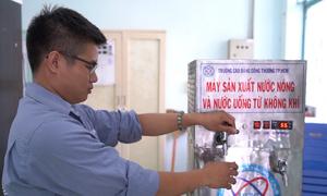 Máy sản xuất nước từ không khí do sinh viên TP HCM chế tạo