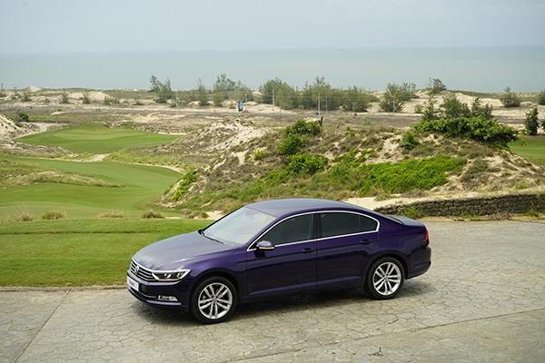 Thiết kế Passat mang nhiều ảnh hưởng của Audi.