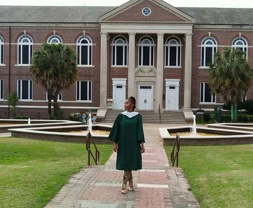 McClarey dự định tiếp tục chương trình sau đại học ở trường Florida A&M. Ảnh: GMA
