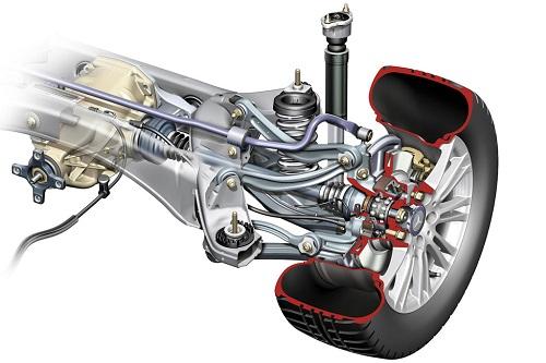 Hệ thống treo đa liên kết trên Mercedes E-Class
