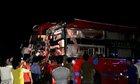 Ôtô giường nằm tông nhau ở Gia Lai, 7 người bị thương