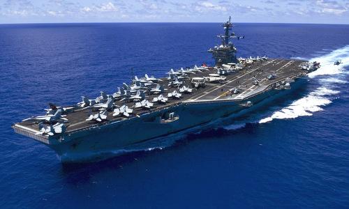 Tàu sân bay USS Carl Vinson của Mỹ. Ảnh: US Navy.