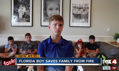 Austin West, 12 tuổi. Ảnh: Fox 4 News