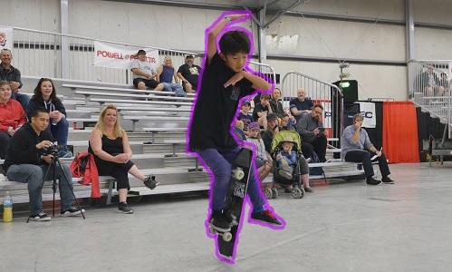 Yuzuki làm quen với trượt ván từ lúc lên 5. Ảnh: World Round-Up
