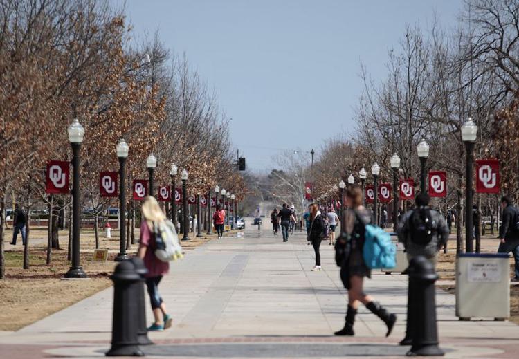 Khuôn viên Đại học Oklahoma nằm ở bang Oklahoma, miền nam nước Mỹ. Ảnh: CNN