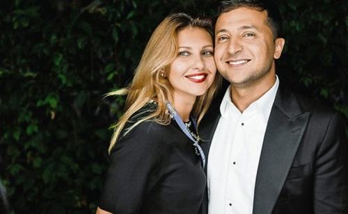 Ông Volodymyr và bà Olena. Ảnh: AP.