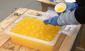 Bong bóng chứa nước uống thay thế chai nhựa