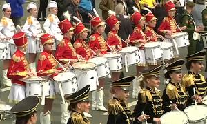 Hơn 500 tay trống Nga lập kỷ lục thế giới tại St. Petersburg