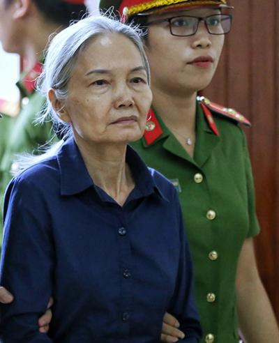 Bị cáo Nguyễn Thị Kim Xuyến. Ảnh: Như Quỳnh.