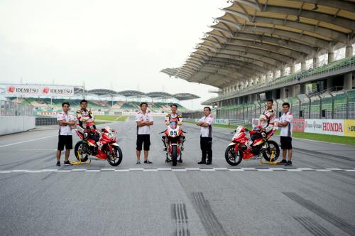 Đội đua Honda Racing Vietnam chính thức thành lập từ mùa giải ARRC 2019.