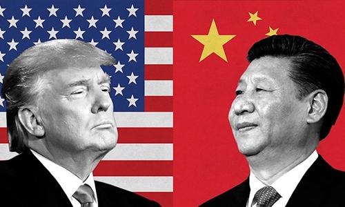 Tổng thống Mỹ Trump (trái) và Chủ tịch Trung Quốc Tập Cận Bình. Ảnh: CNN.