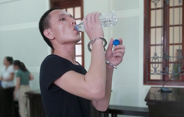 Bị cáo Trần Hoài Nam. Ảnh: Nguyễn Hải.