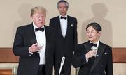 Nhật hoàng thết đãi Trump yến tiệc toàn món Pháp