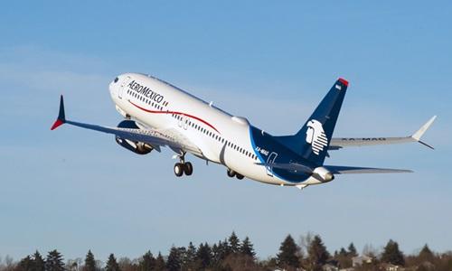 Một máy bay của hãng Aeromexico. Ảnh: Reuters.