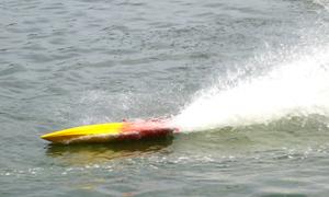 Thú chơi tàu mô hình tốc độ cao ở Hà Nội