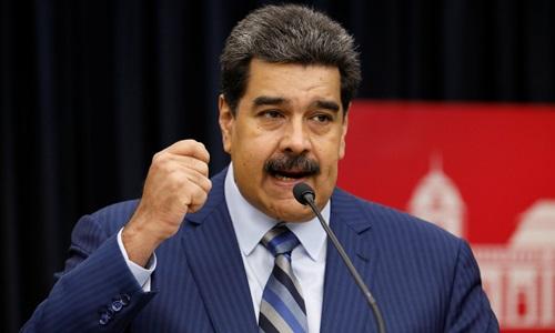 Tổng thống Venezuela Nicolas Maduro. Ảnh: RT.