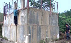 Công trình cấp nước ở Tuyên Quang bỏ hoang sau một tháng vận hành