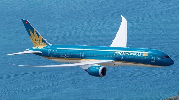Máy bay Vietnam Airlines. Ảnh: Xuân Hoa.