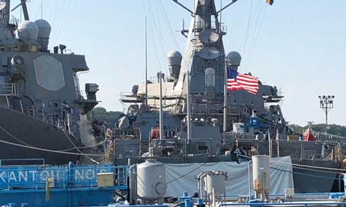 Tàu Tàu chiến USS John McCain của Hải quân Mỹ. Ảnh: Navy Times.